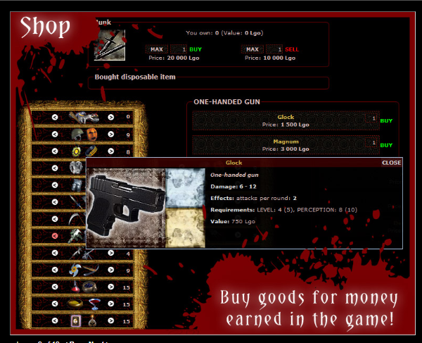 BloodWars at Top Web Games