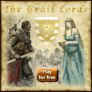 The Grail Lords logo